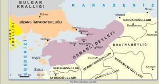 1345'te Osmanlı Devleti