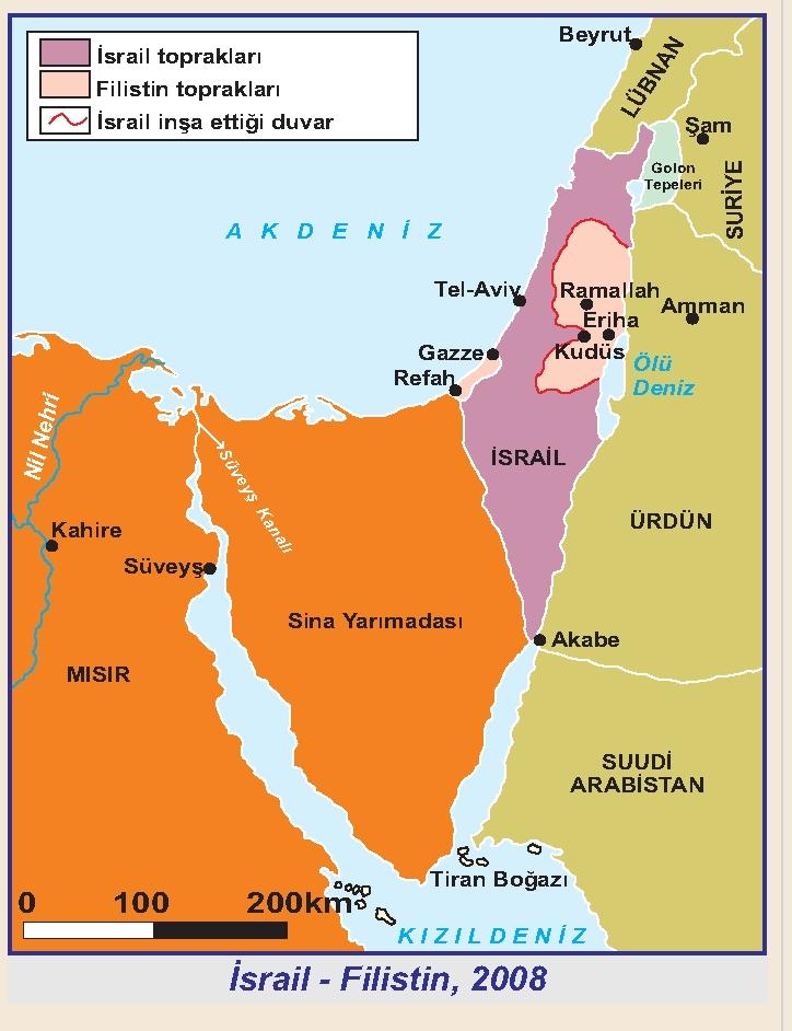 İsrail- Filistin,2008