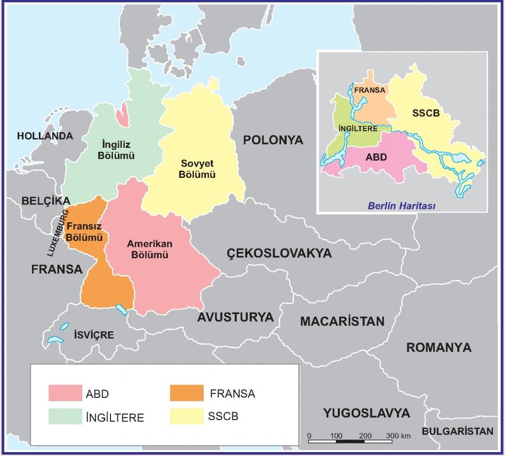 Almanya'nın Bölünmesi
