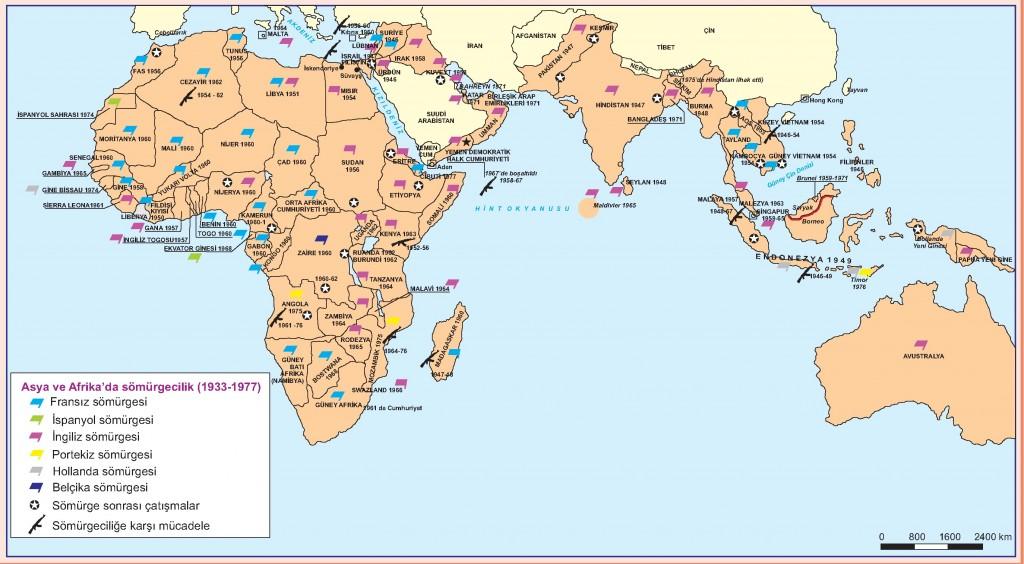 Asya ve Afrika'da Sömürgecilik