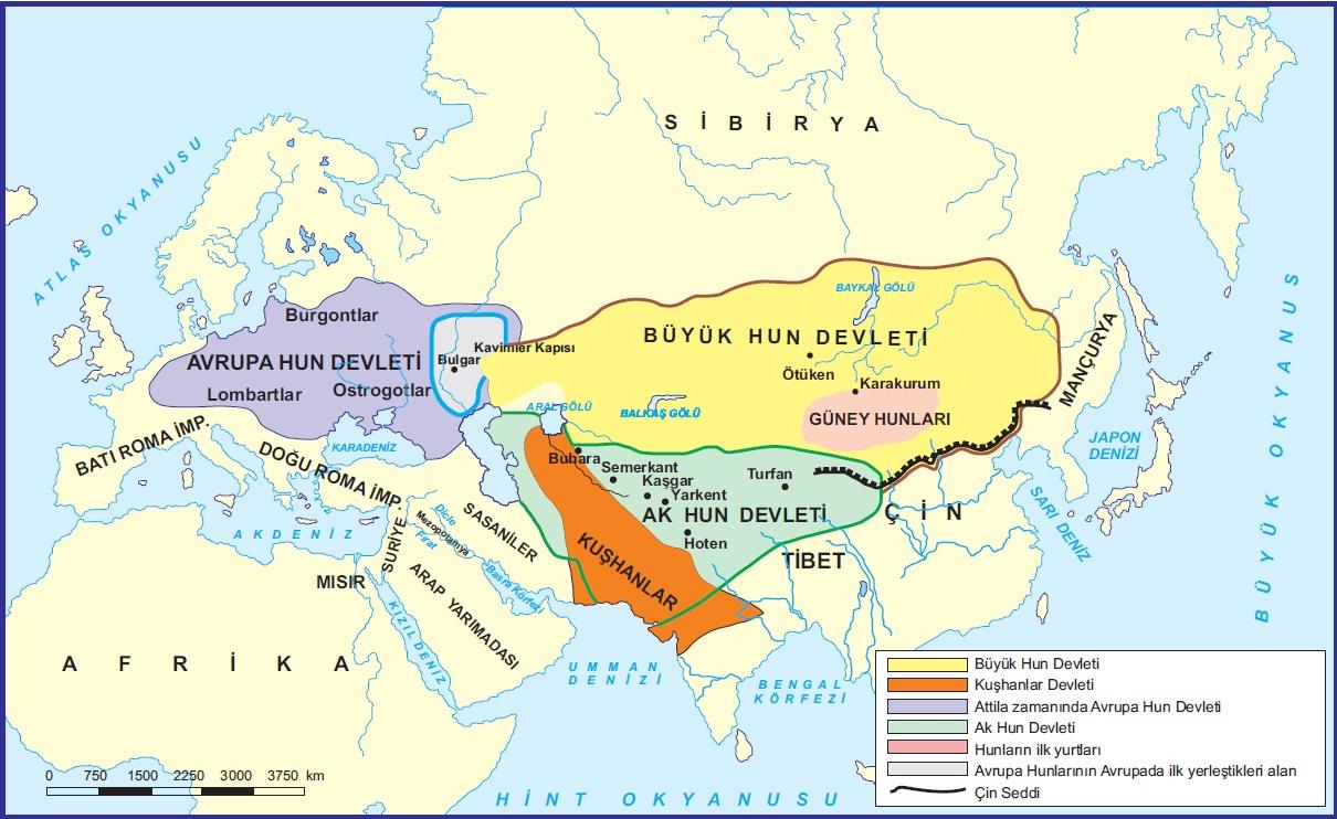 Avrupa ve Büyük Hun Devleti