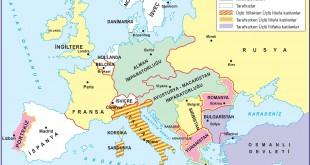 I.Dünya Savaşı esnasında Avrupa ve Osmanlı Devleti