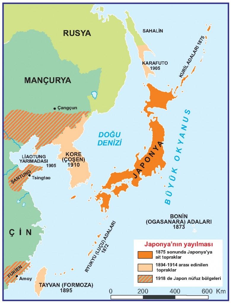 Japonyanın Yayılması