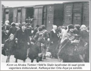 Kırım Ahıska Türklerinin 1944 Sürgünü