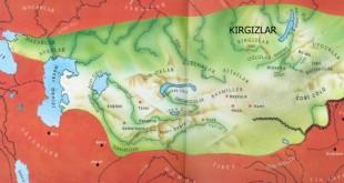 Kırgızlar Haritası