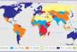 Yetersiz Beslenen Nüfus Oranları Haritası