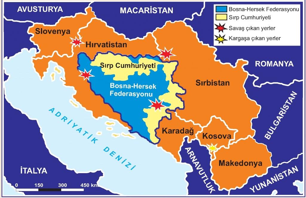 Yogoslavya'nın Parçalanışı