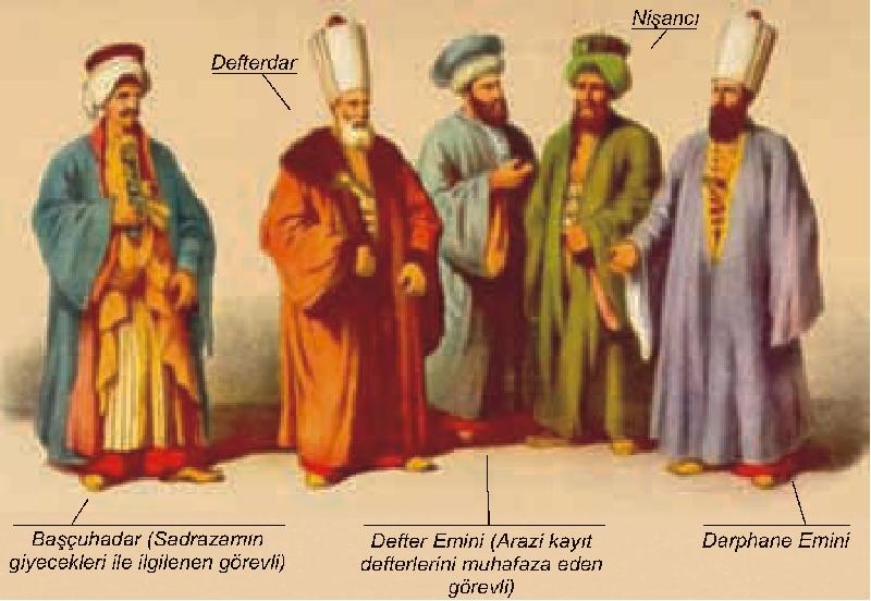 Osmanlı Devlet Görevlileri