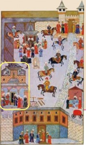 Topkapı Sarayı minyatürü