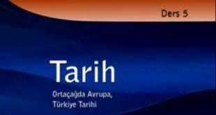 Ortaçağda Avrupa Türkiye Tarihi