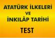 inkılap test