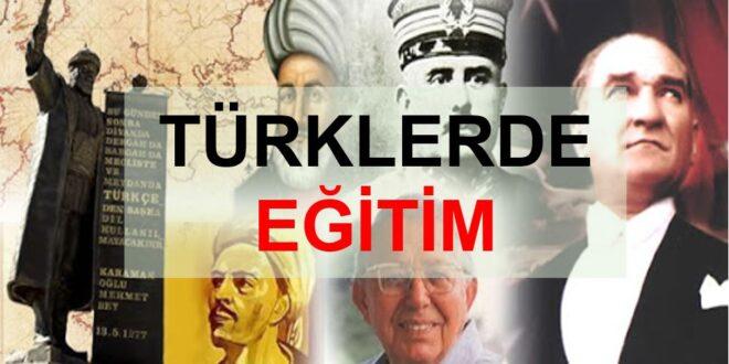 Türklerde Eğitim Ders Notu (Tablo Şeklinde)